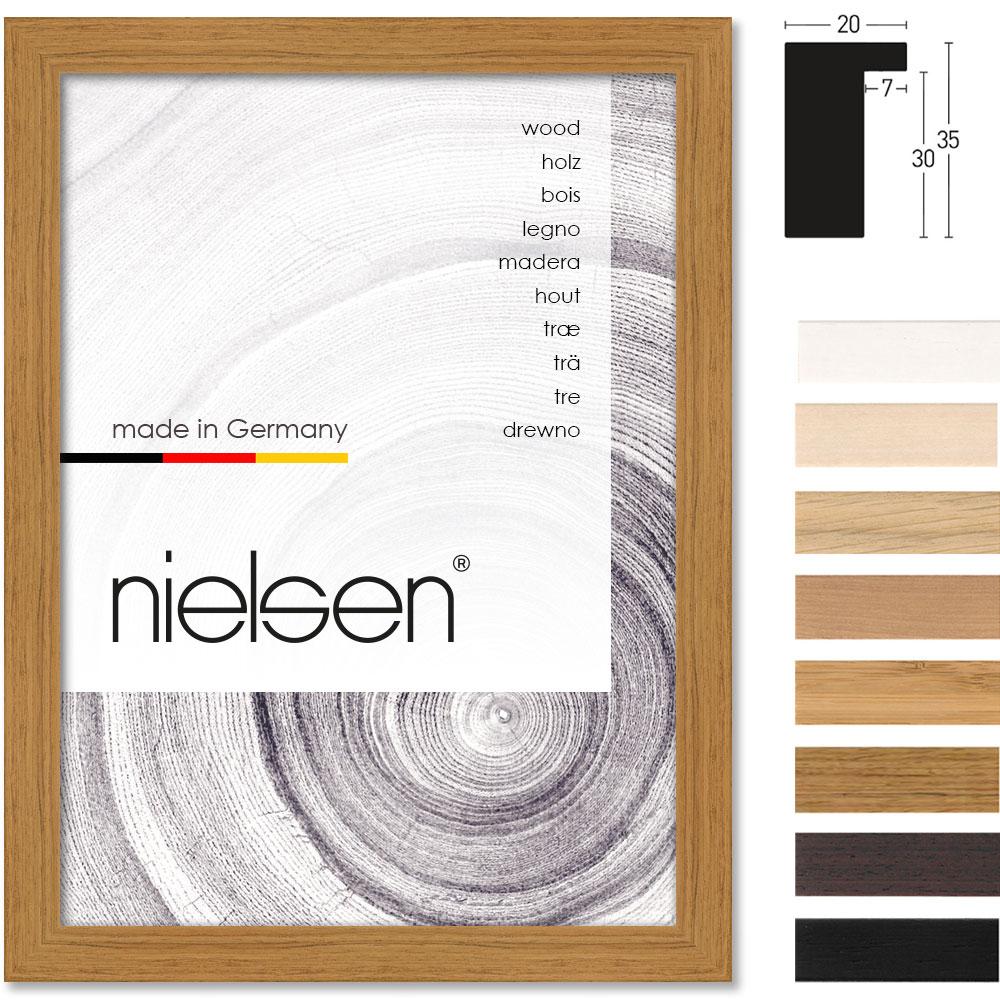 Nielsen Holzrahmen Loft 20x35 21x29,7 cm (A4) - Bambus | AllesRahmen.de
