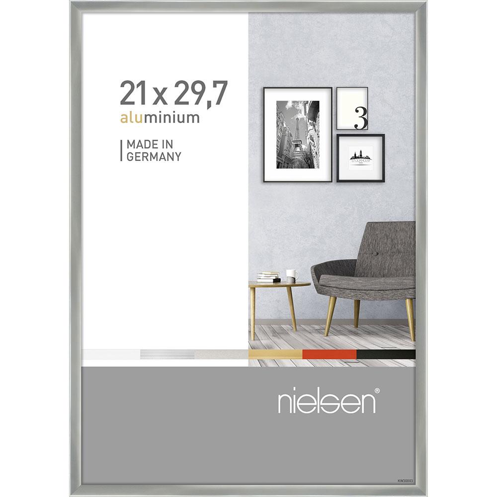 Alurahmen Pixel Silber glanz 21x29,7 cm (A4)
