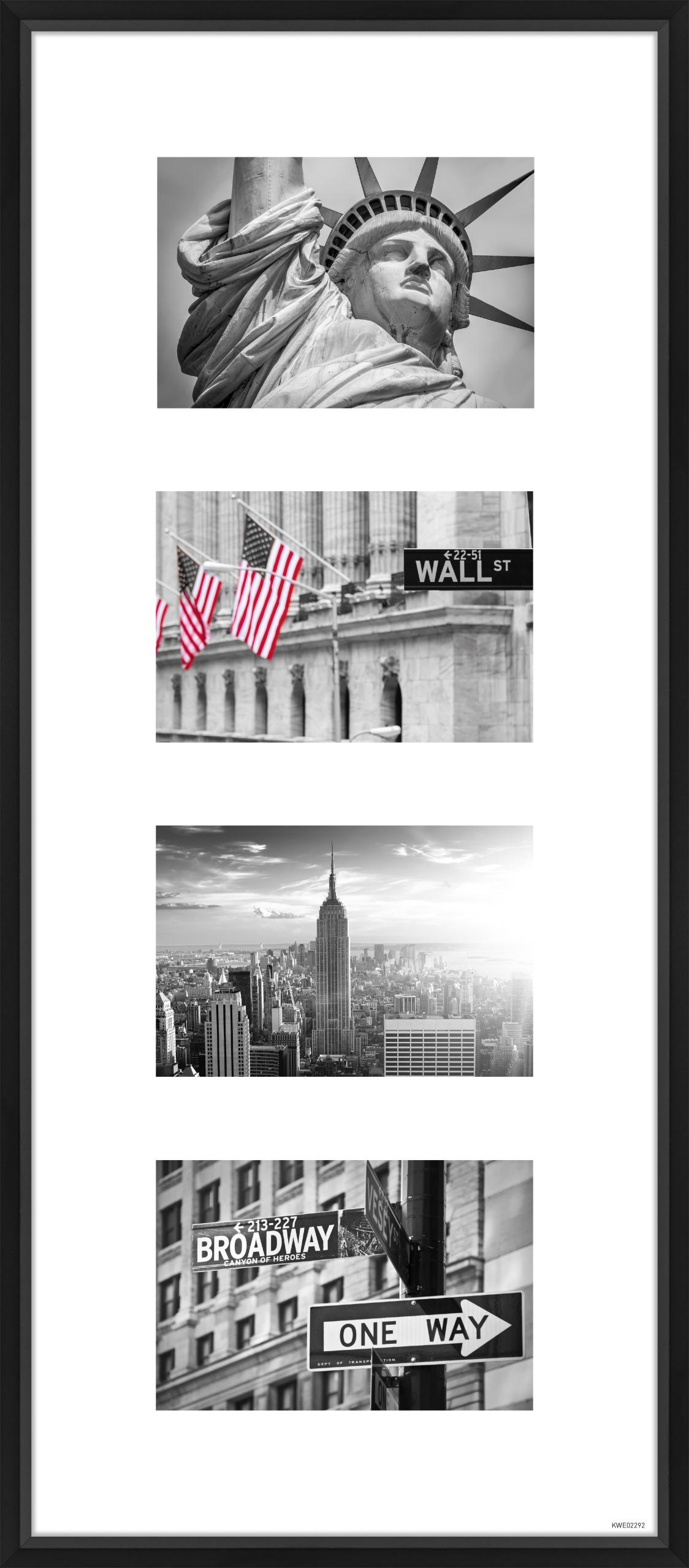 Broadway Fotorahmen 13x18 cm schwarz