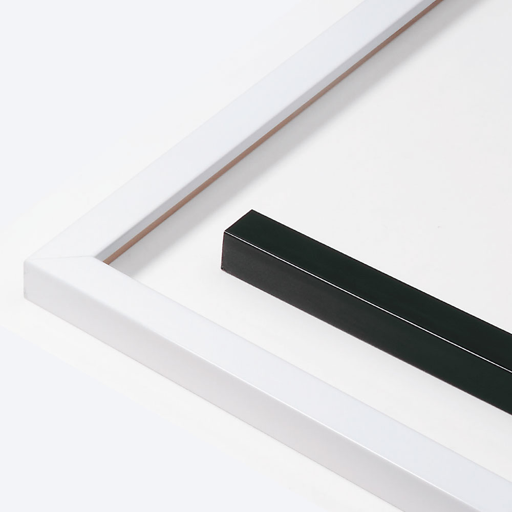 Holzrahmen Sonderzuschnitt, Matrix B&W 20x20