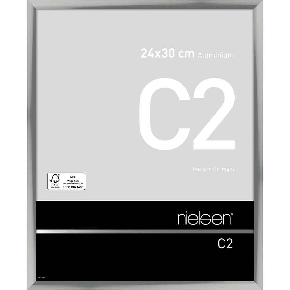 Alurahmen C2 Silber glanz 24x30 cm