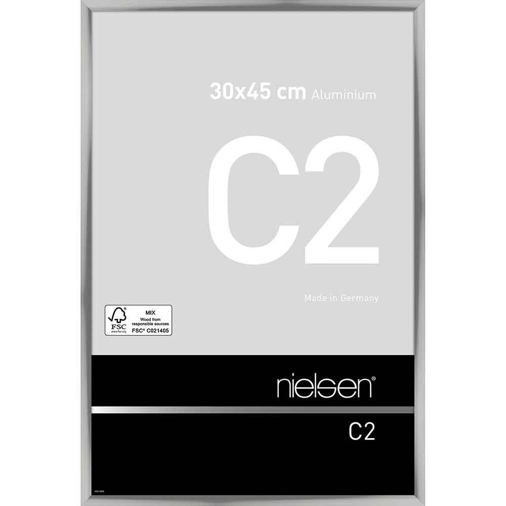 Alurahmen C2 Silber glanz 30x45 cm