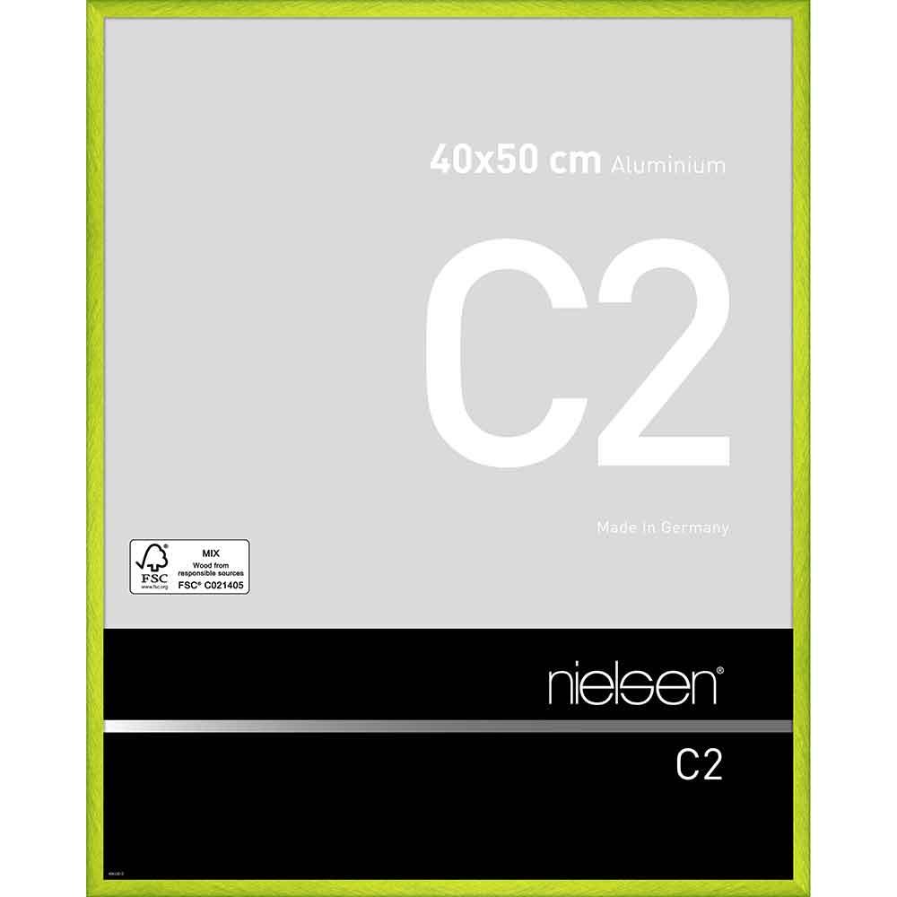 Alurahmen C2 Cyber Grün 40x50 cm