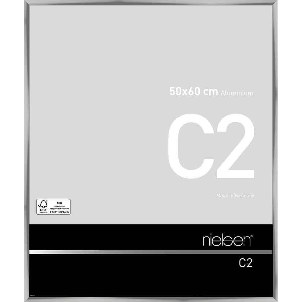 Alurahmen C2 Silber glanz 50x60 cm