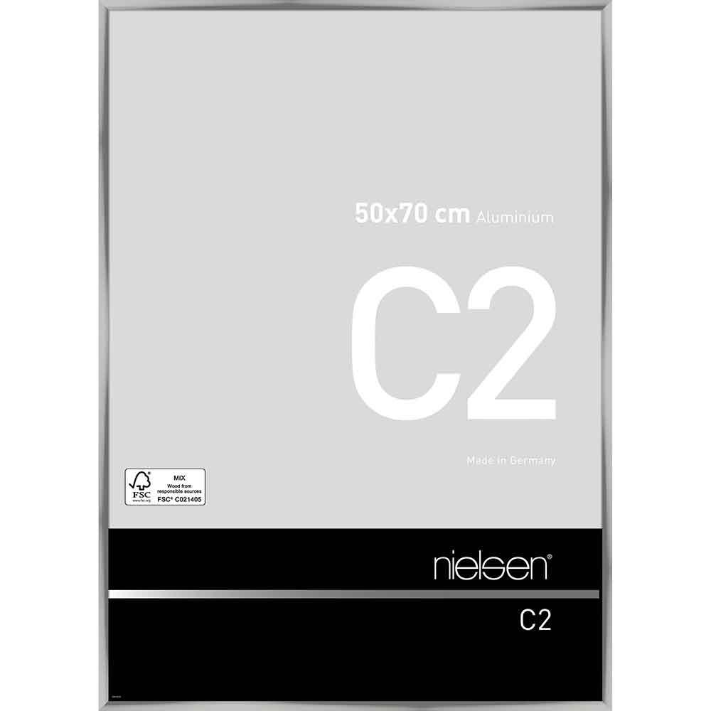 Alurahmen C2 Silber glanz 50x70 cm