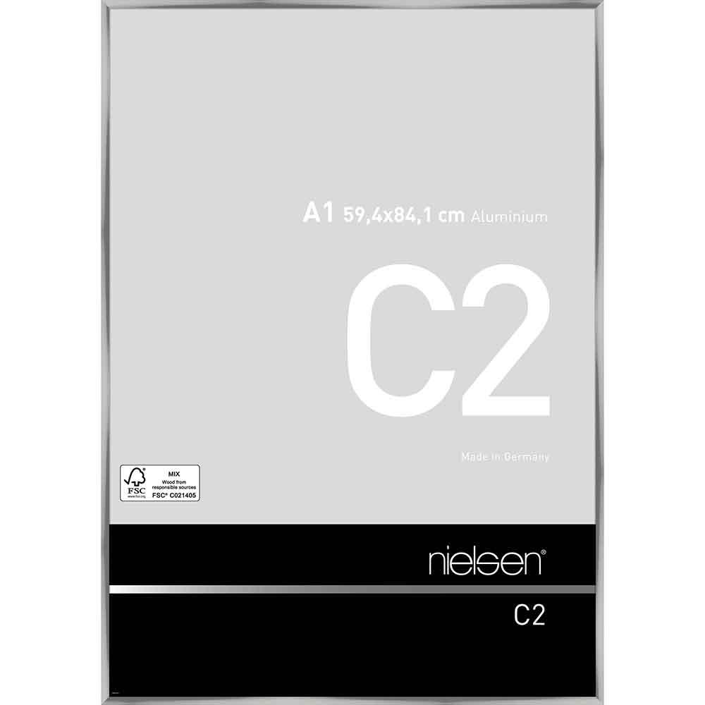 Alurahmen C2 Silber glanz 59,4x84,1 cm (A1)