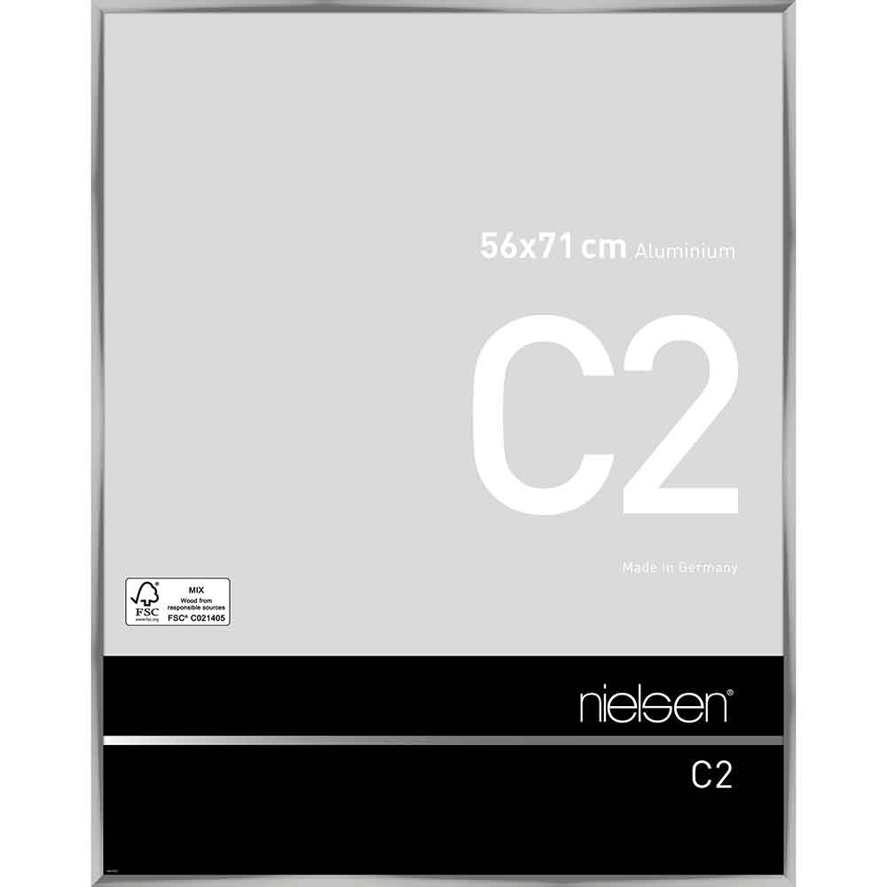 Alurahmen C2 Silber glanz 56x71 cm