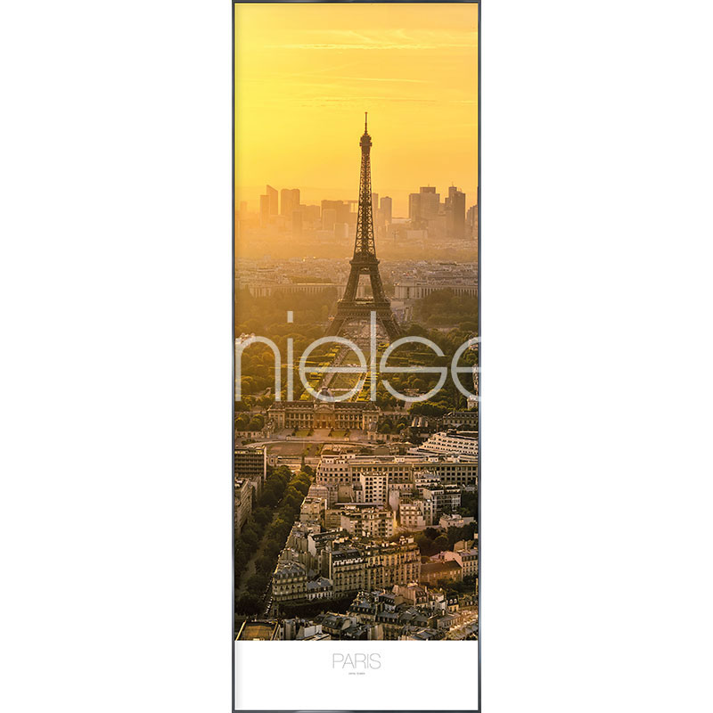 "Gerahmtes Bild ""Paris at Daytime"" mit Alurahmen Alpha"