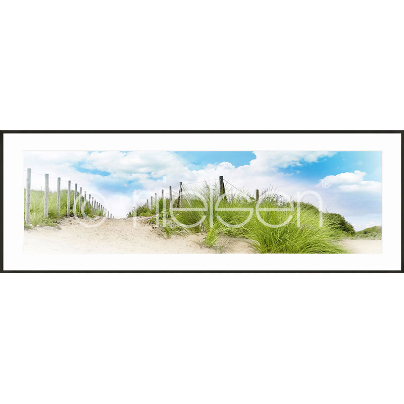 "Gerahmte Kunst ""Dune"" mit Alurahmen C2"