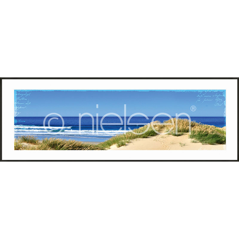 "Gerahmte Kunst ""Dune Ocean"" mit Alurahmen C2"