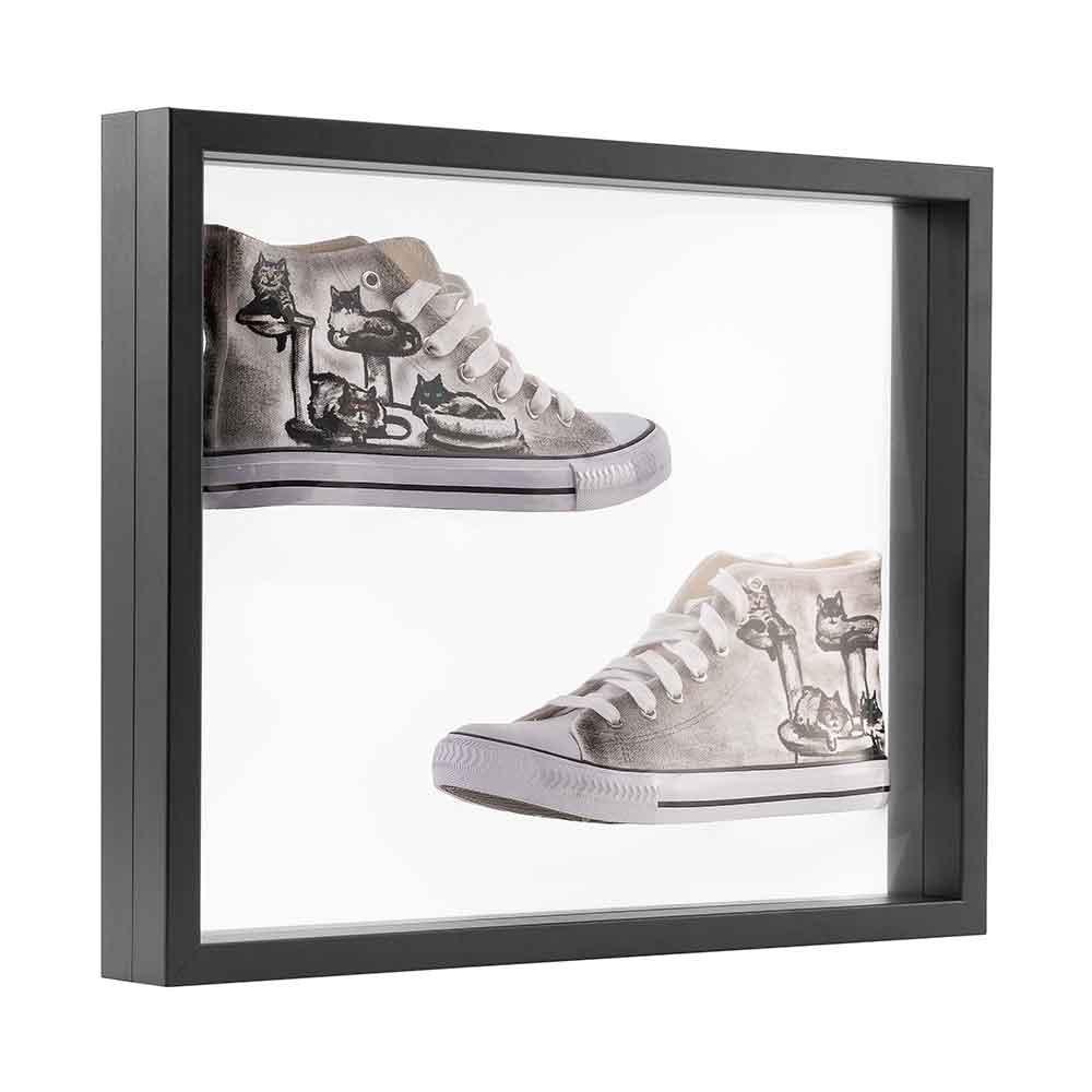 3D Schweberahmen - 40x50 cm schwarz
