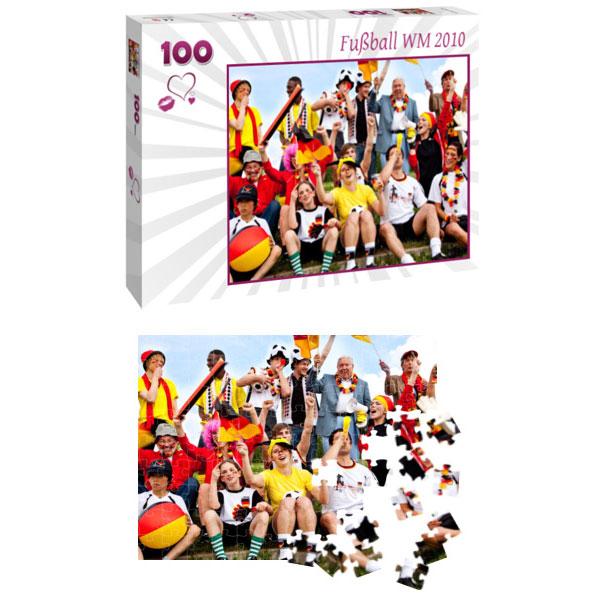 Individuelles Fotopuzzle 100 Teile