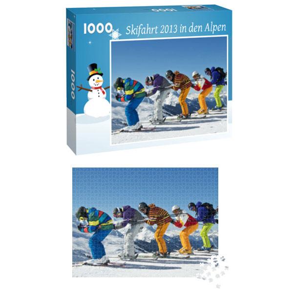 Individuelles Fotopuzzle 1000 Teile