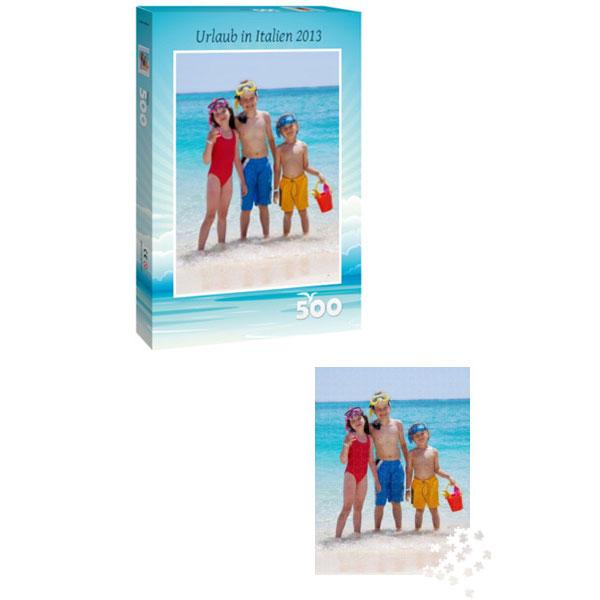 Individuelles Fotopuzzle 500 Teile