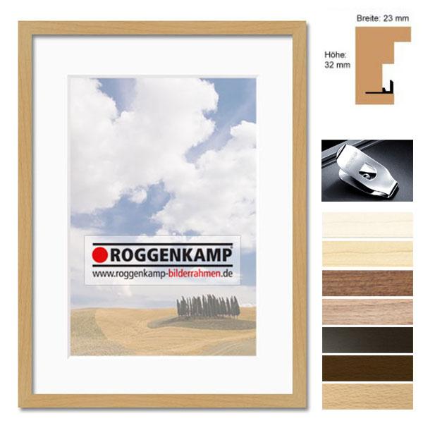 Holzrahmen aus Buche / Ahorn - Sonderzuschnitt