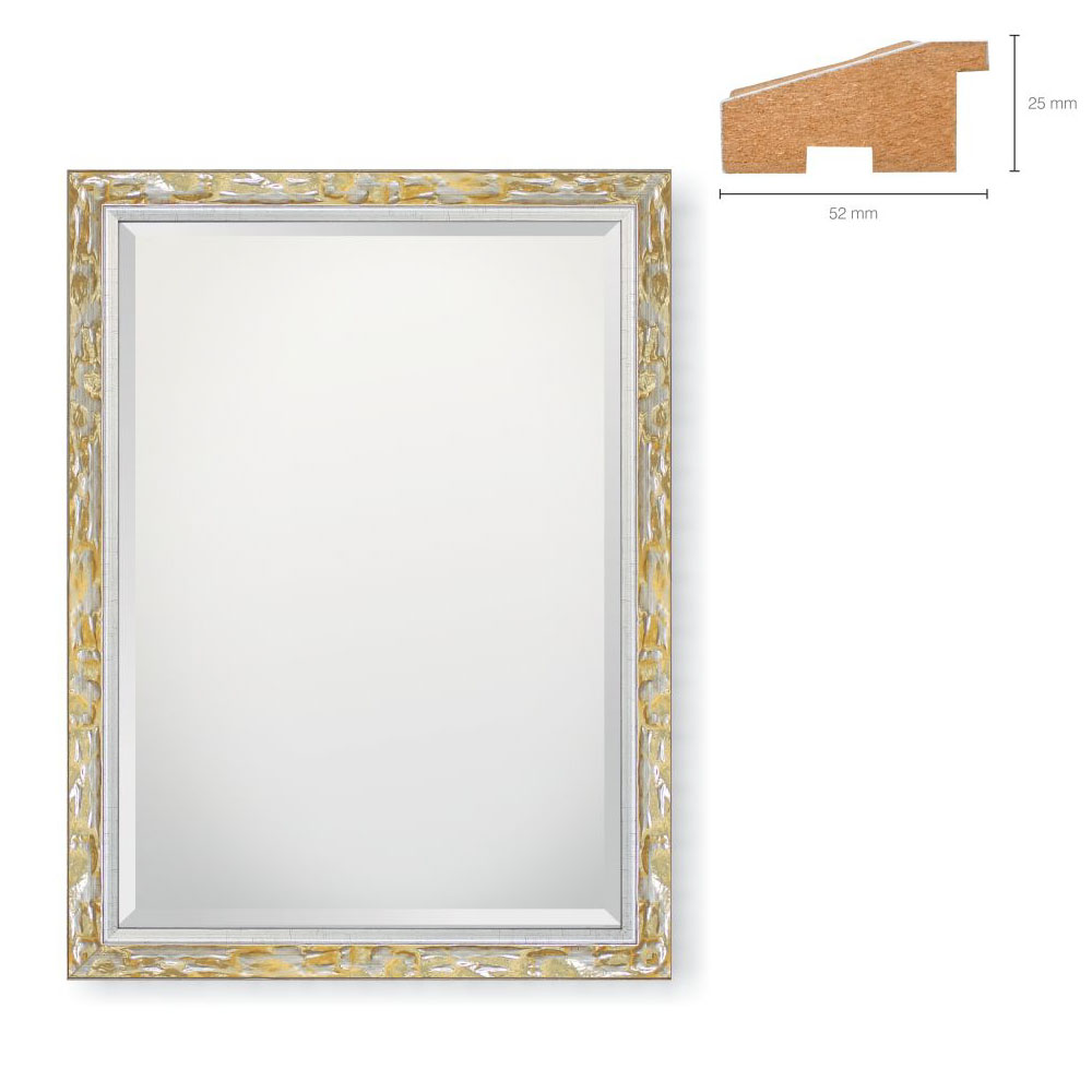 Holz-Spiegel Lurio