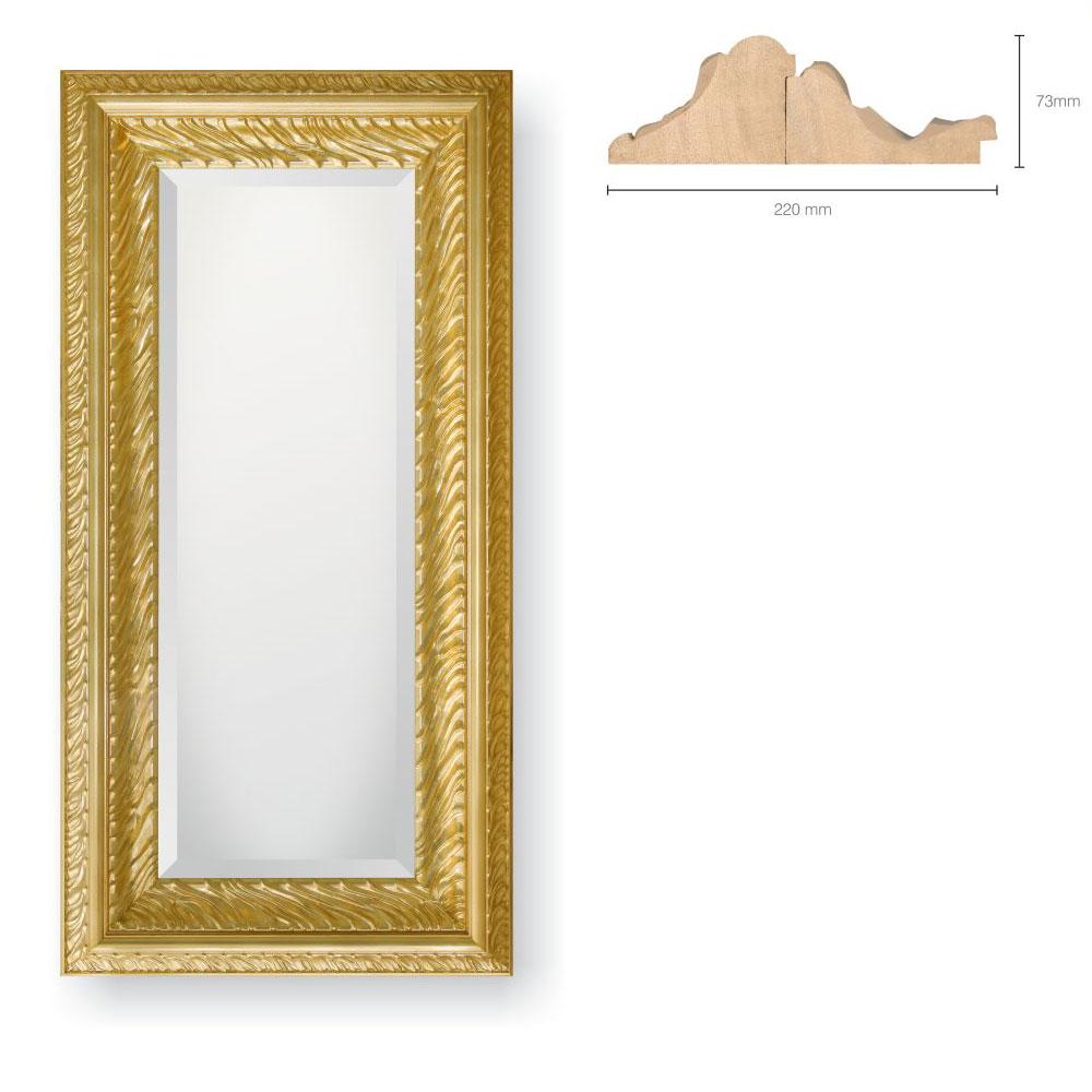 Holz-Spiegel Visconti