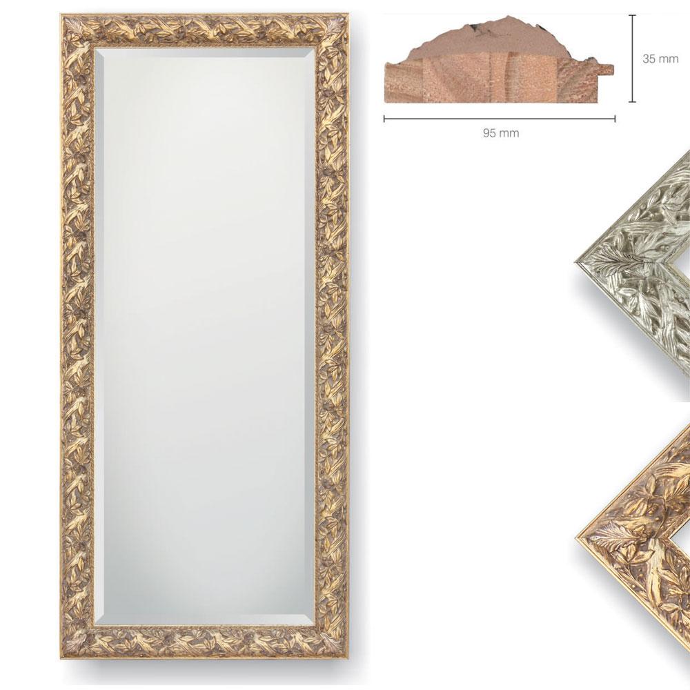 Holz-Spiegel Dominici