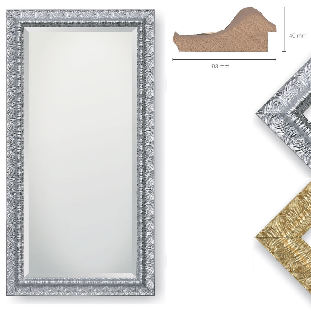 Holz-Spiegel Pinto