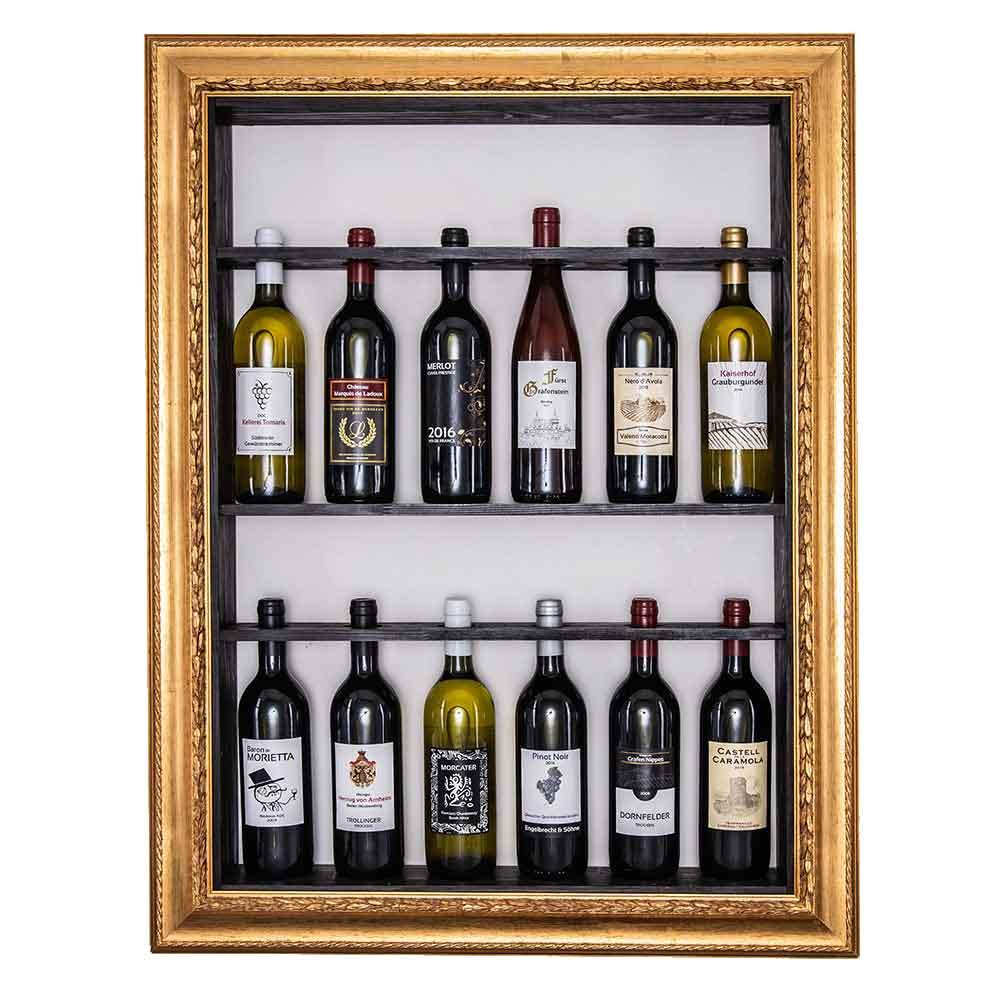 Bilderrahmen für Weinflaschen Toskana 60x80 cm