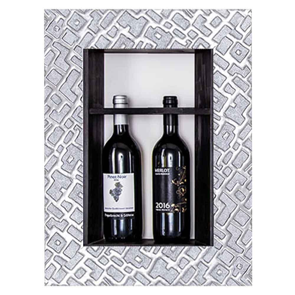 Bilderrahmen für Weinflaschen Piemont 20x40 cm