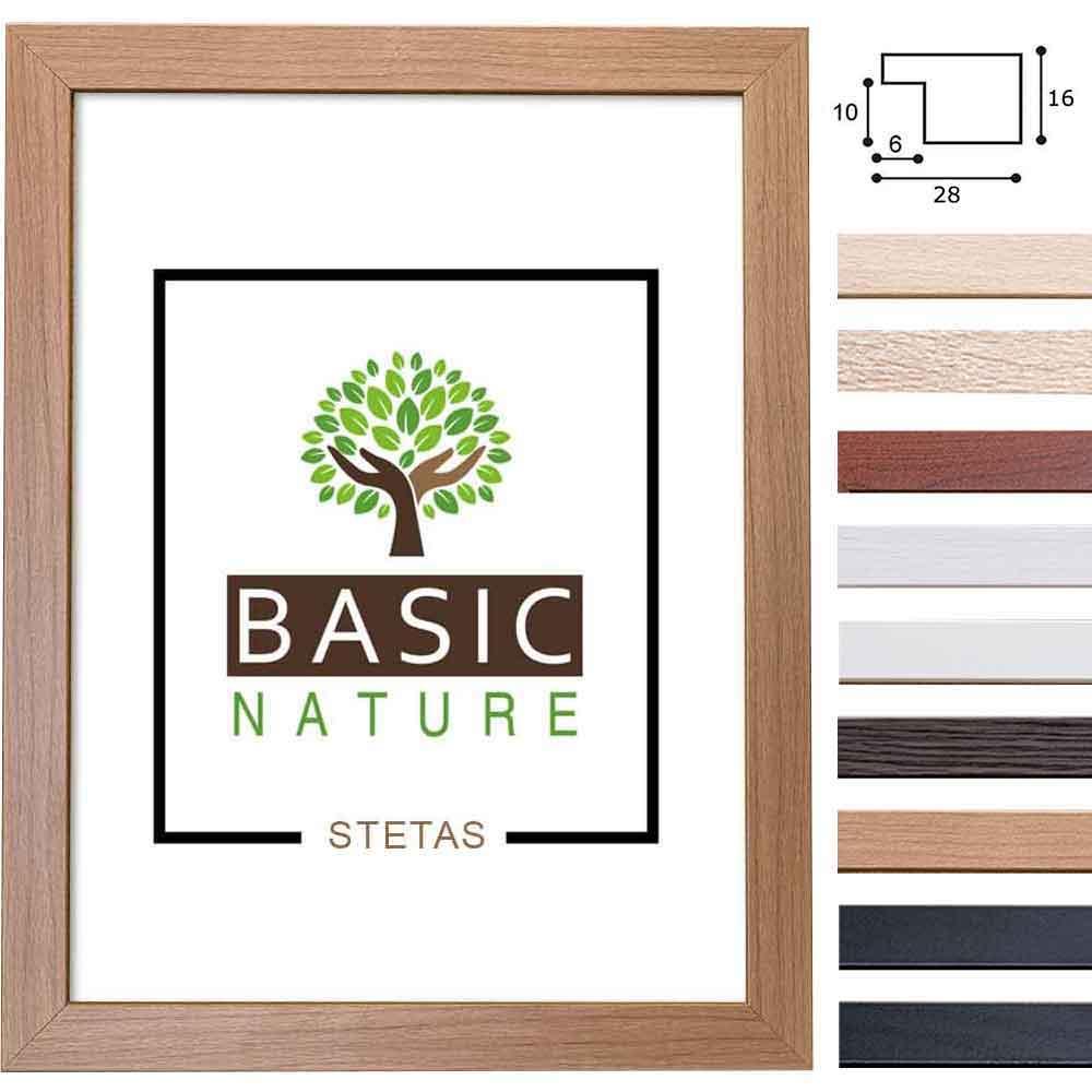Holz-Bilderrahmen Basic Nature