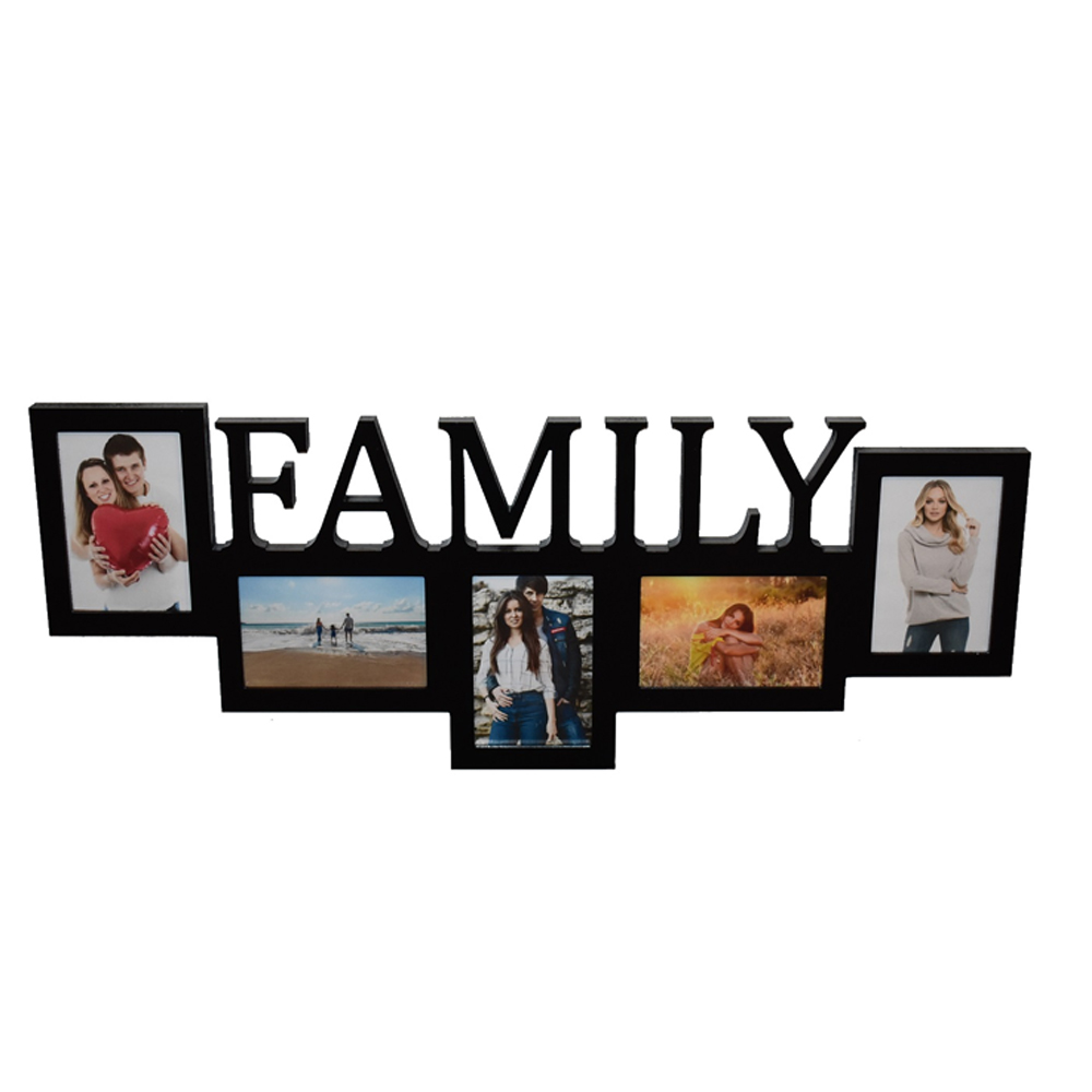 Galerie-Bilderrahmen FAMILY 5 Bilder