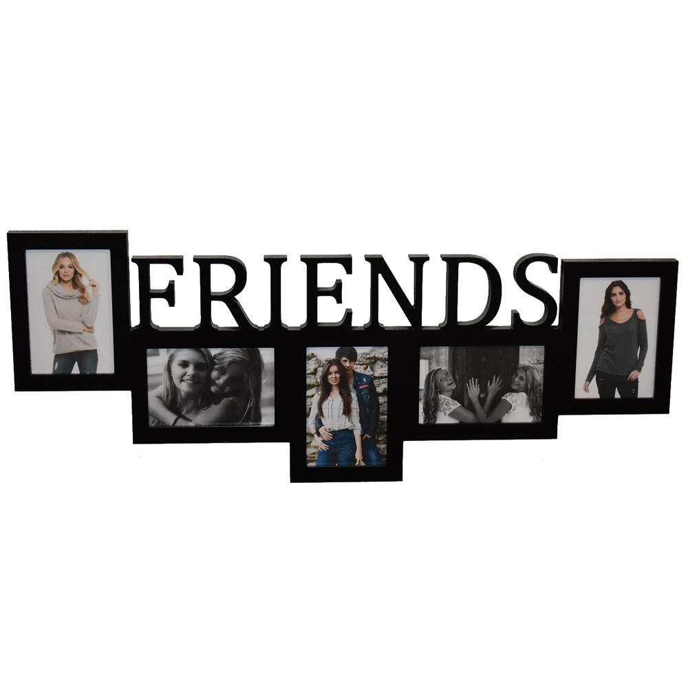 Galerie-Bilderrahmen FRIENDS 5 Bilder