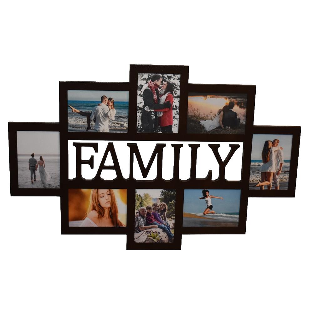 Galerie-Bilderrahmen FAMILY 8 Bilder