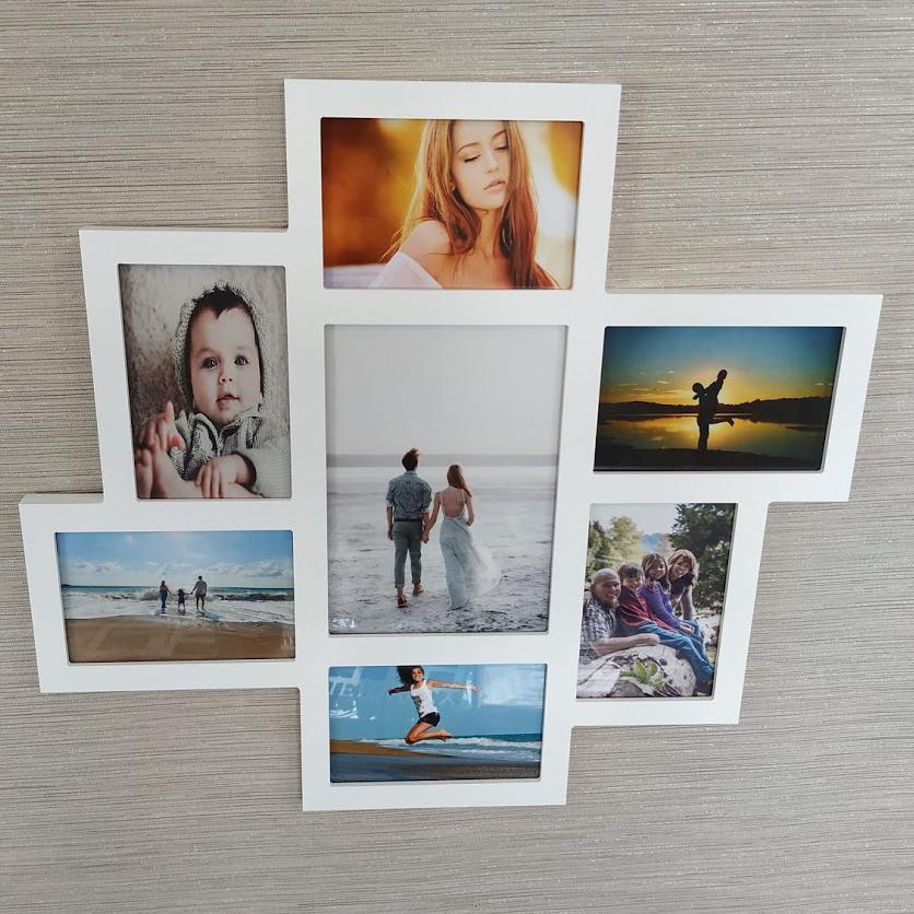 Galerie-Bilderrahmen 7 Bilder