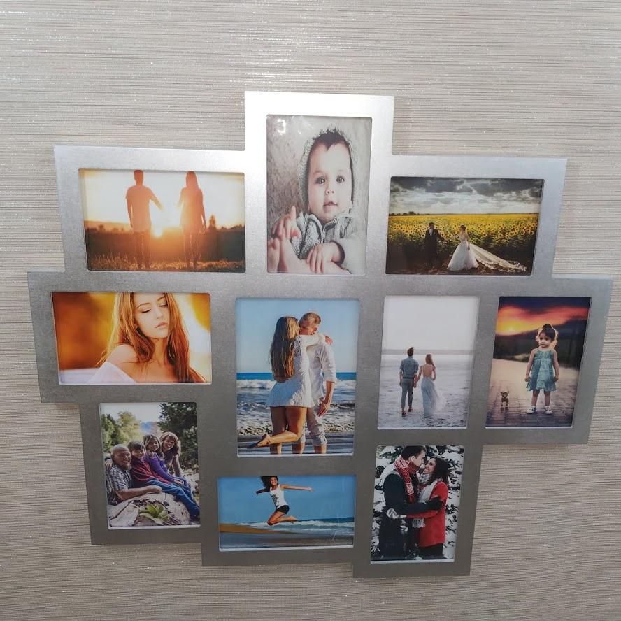 Galerie-Bilderrahmen 10 Bilder