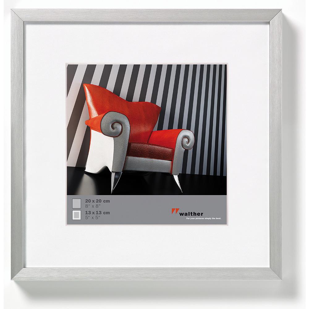 Walther Alurahmen Chair 20x20 mit Passepartout (13x13) - silber ...