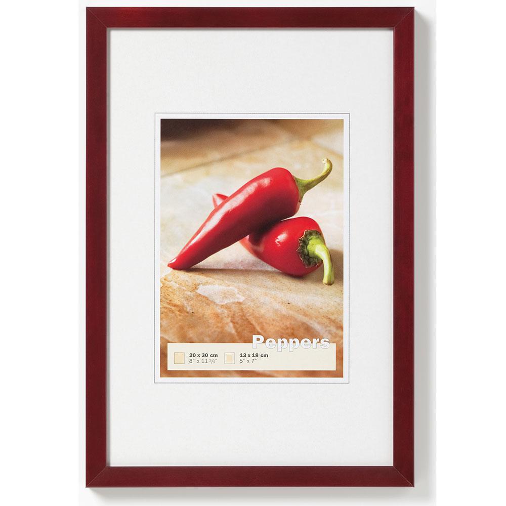 Holzrahmen Peppers mahagoni