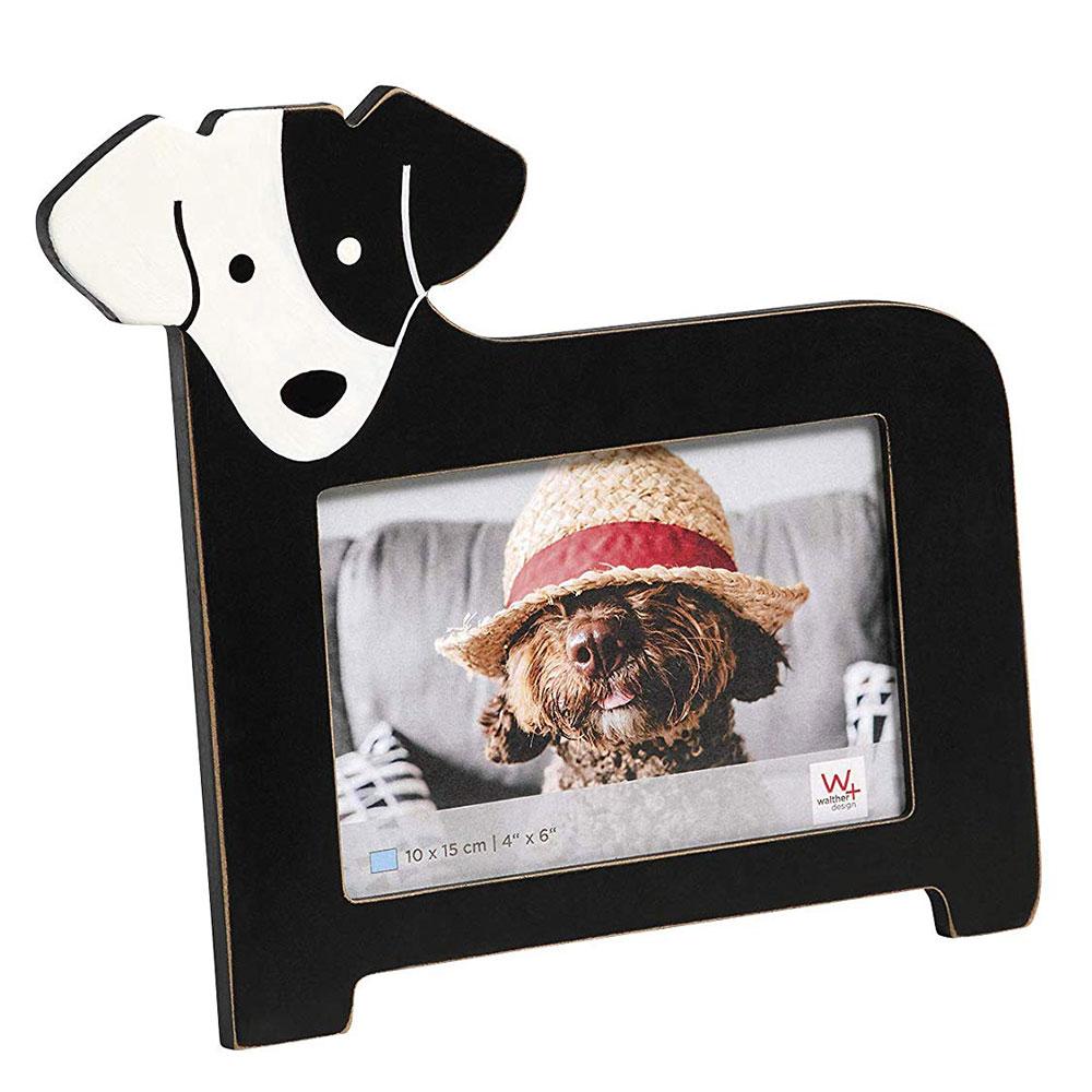 Cats&Dogs Fotorahmen 10x15 cm - Hund schwarz