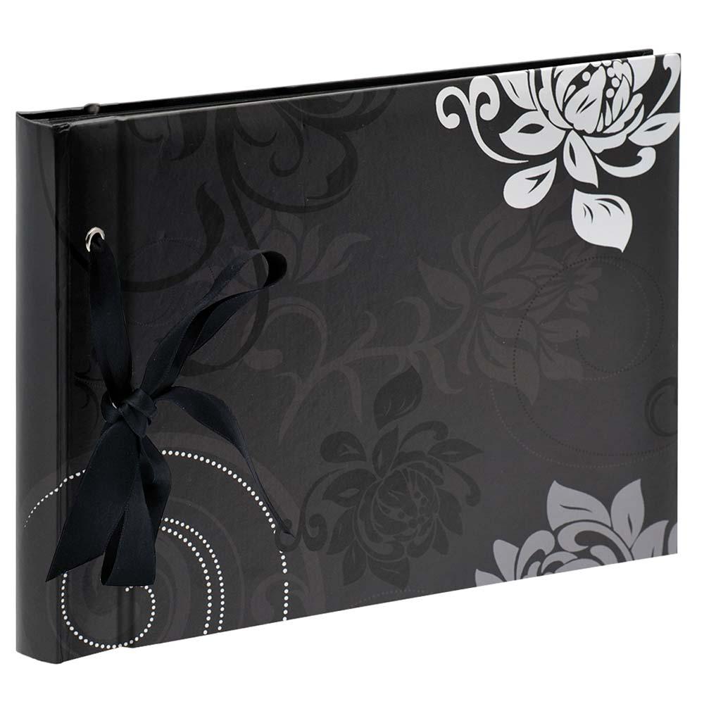 Fotoalbum Grindy zum Einkleben, 23,5x16 cm schwarz