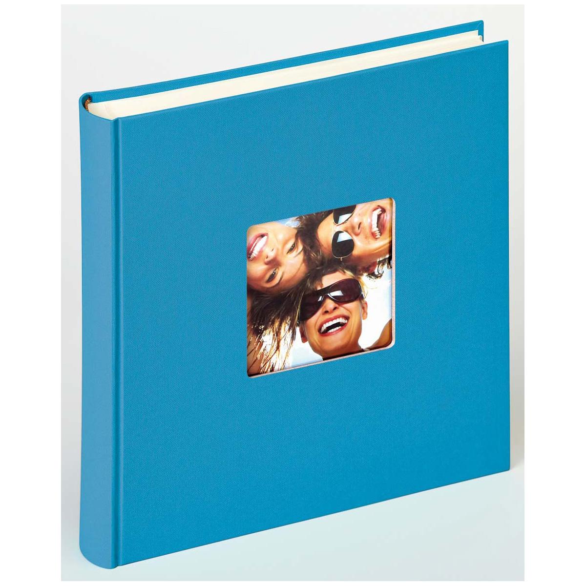 Buchalbum Fun mit 100 Seiten, 30x30 cm oceanblau