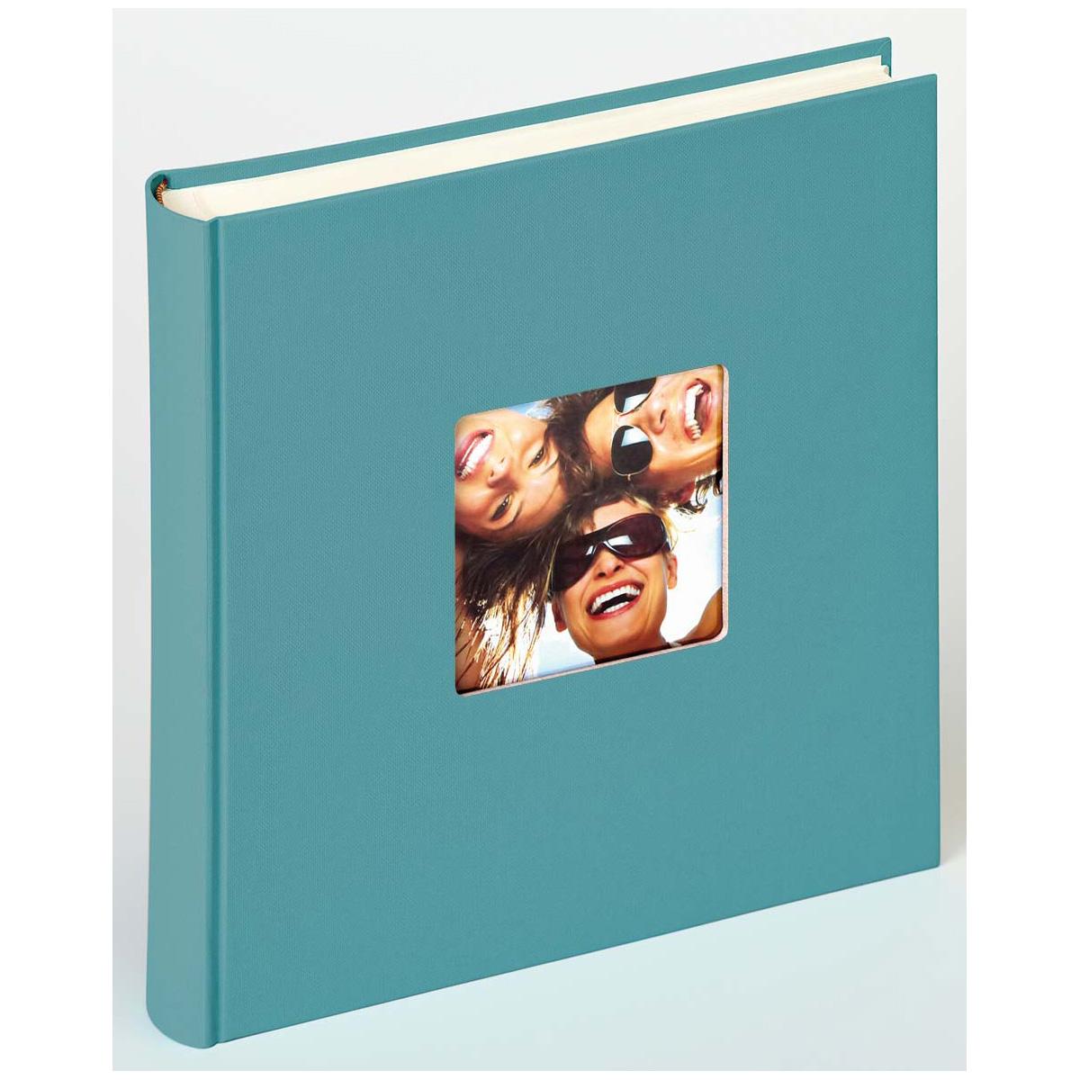 Buchalbum Fun mit 100 Seiten, 30x30 cm petrolgrün