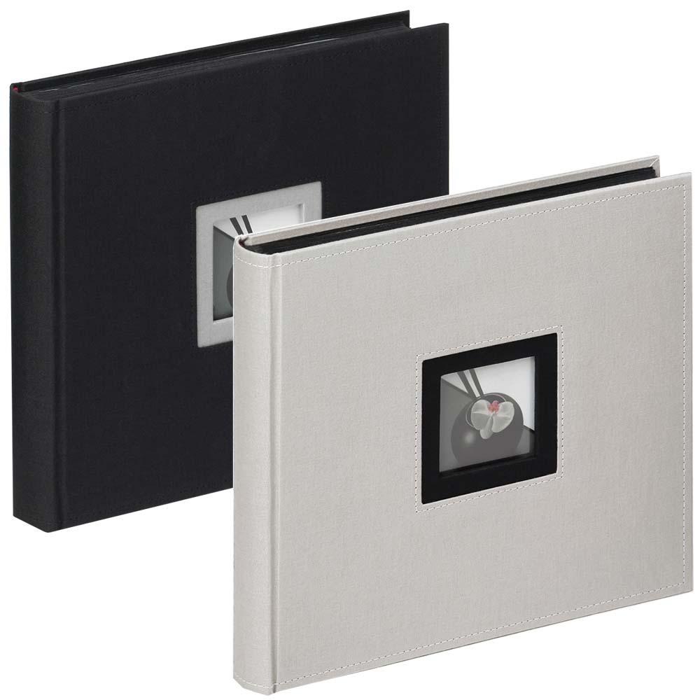 Buchalbum Black & White zum Einkleben, 26x25 cm