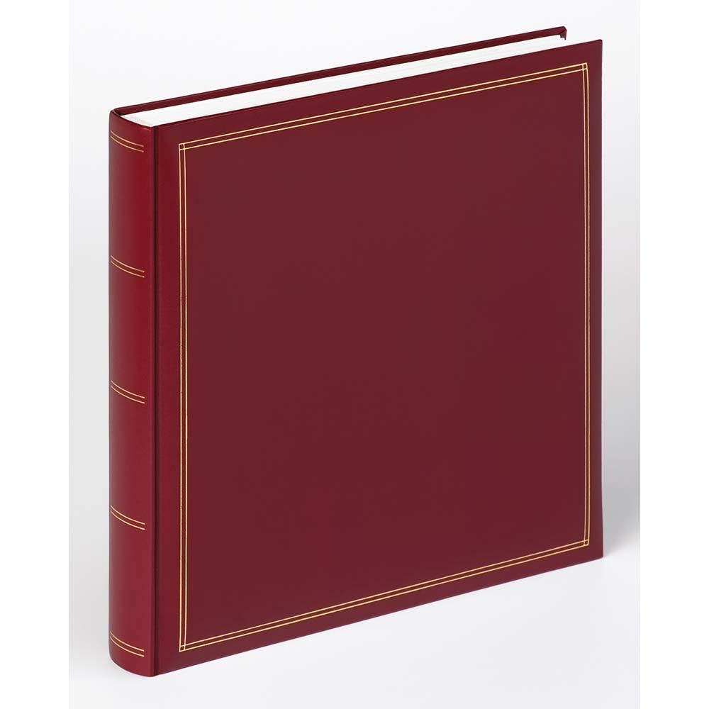 Buchalbum Monza zum zum Einkleben, 33x34 cm rot