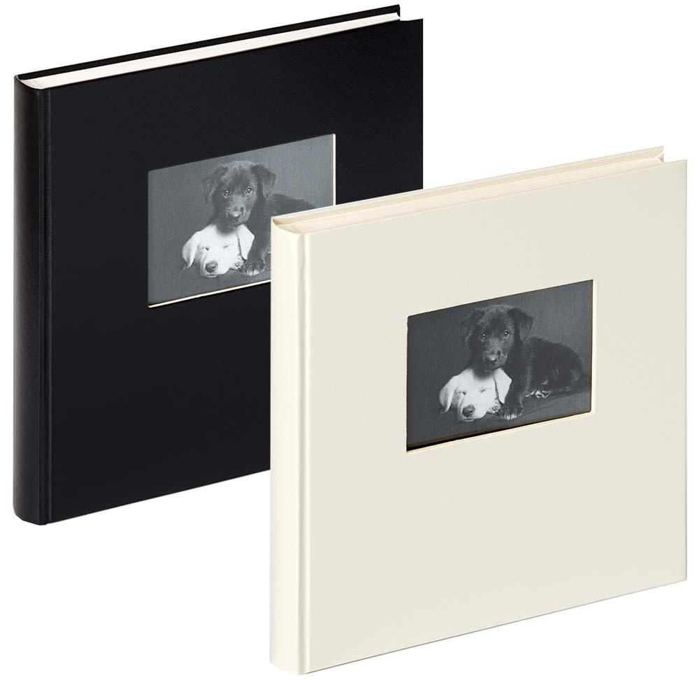 """Buchalbum """"Charm"""" mit 60 wei�en Seiten"""