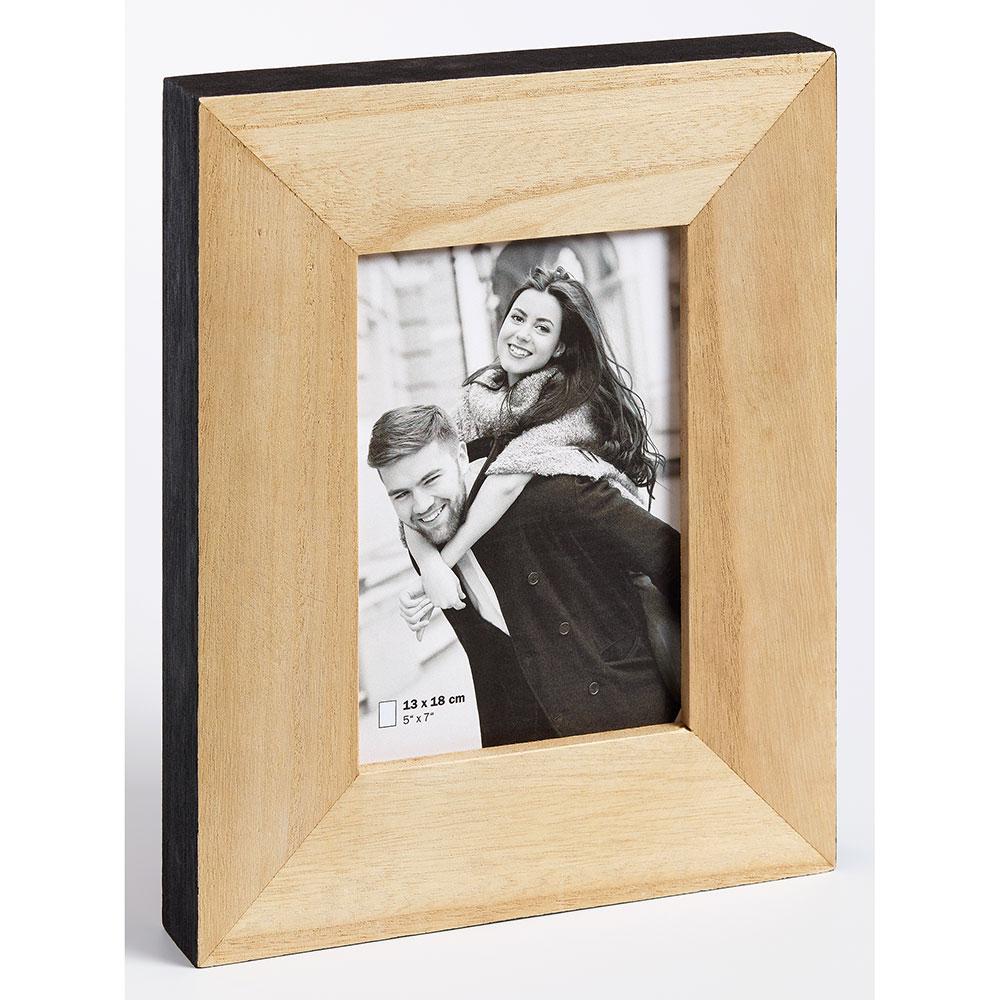Fotorahmen Laois braun-schwarz 13x18 cm
