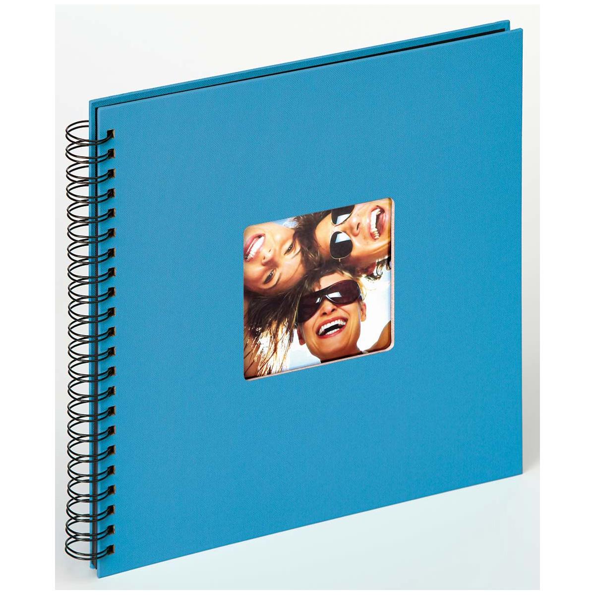 Spiralalbum Fun zum Einkleben, 30x30 cm oceanblau