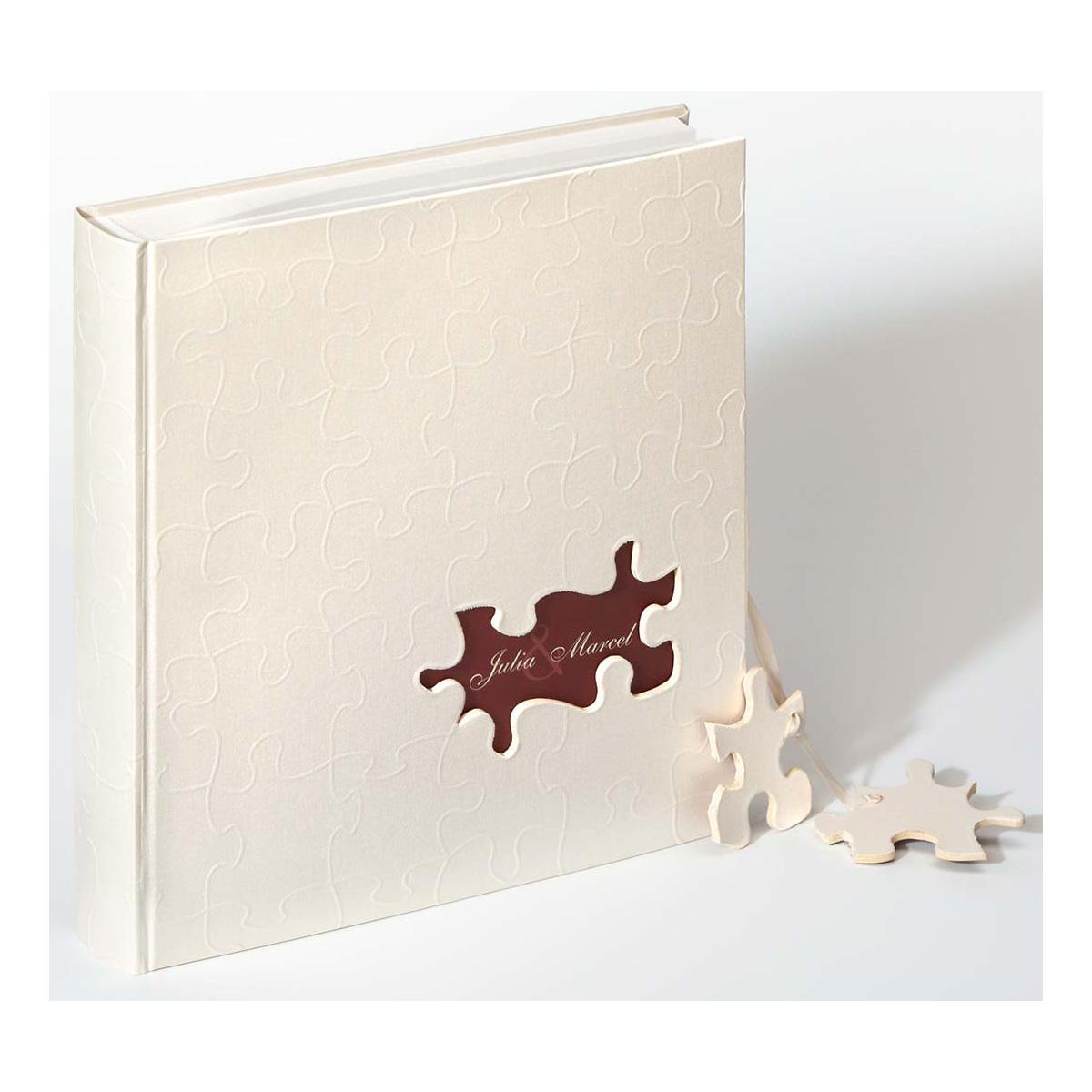 Hochzeitsalbum Puzzle personalisiert