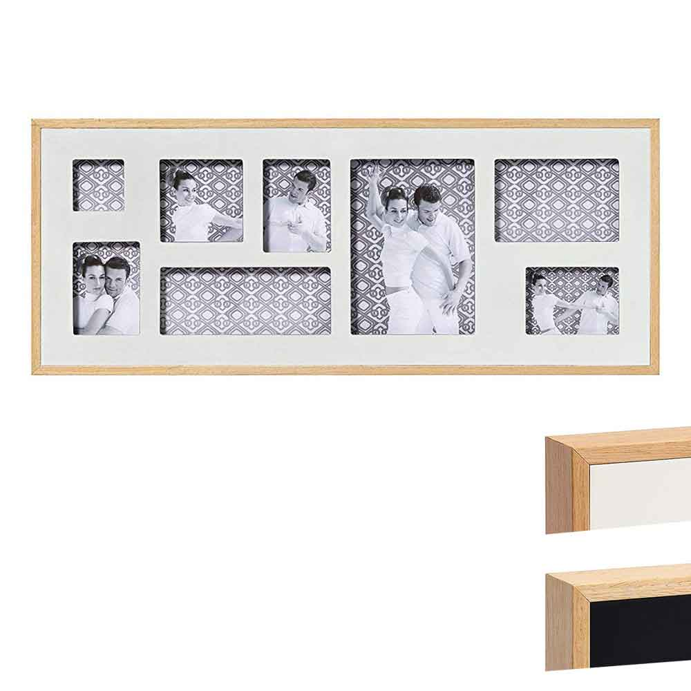 Galerie-Bilderrahmen Double 8 Bilder