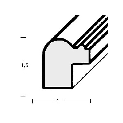 klueber gebira holzrahmen mataro nach ma altgold patiniert perlkante. Black Bedroom Furniture Sets. Home Design Ideas