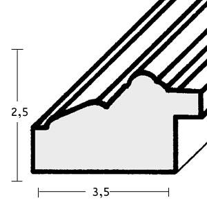 klueber gebira holzrahmen puerto nach ma altsilber platte silber. Black Bedroom Furniture Sets. Home Design Ideas