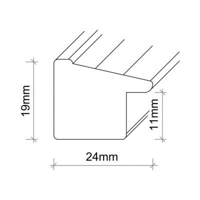 lueck kunststoff bilderrahmen umkirch mit passepartout 50x70 cm 40x60 cm bronze. Black Bedroom Furniture Sets. Home Design Ideas