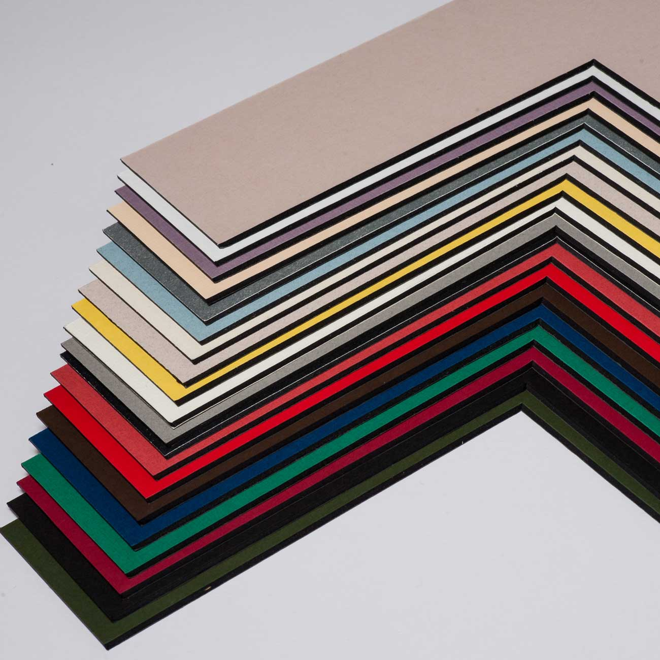 aicham larson juhl 1 4 mm blackcore passepartout mit individuellem ausschnitt 24x30 cm. Black Bedroom Furniture Sets. Home Design Ideas