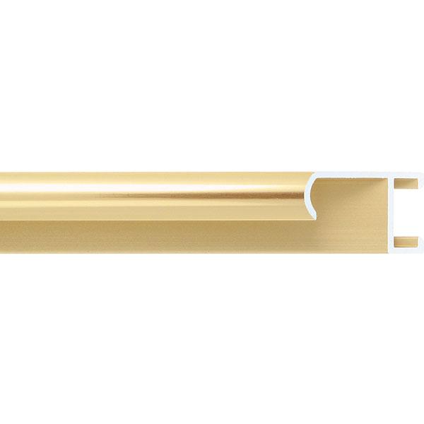 aicham larson juhl alu bilderrahmen serie 415 40x60 cm gold poliert geb rstet. Black Bedroom Furniture Sets. Home Design Ideas
