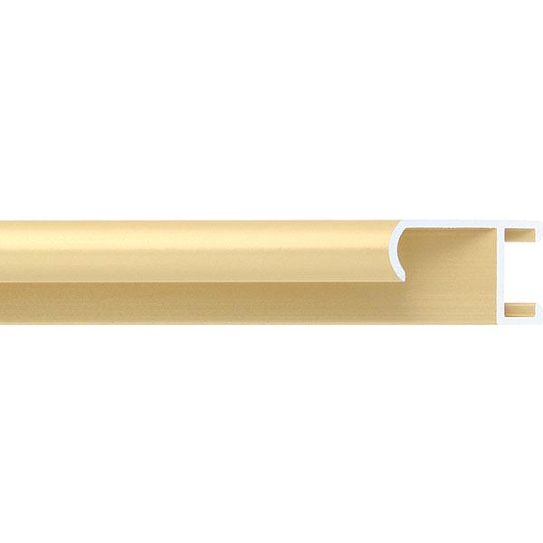 aicham larson juhl alu bilderrahmen serie 415 zuschnitt gold matt geb rstet. Black Bedroom Furniture Sets. Home Design Ideas
